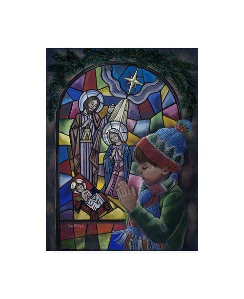 """Trademark Global Tricia Reilly-Matthews 'First Prayers' Canvas Art - 24"""" x 32"""""""