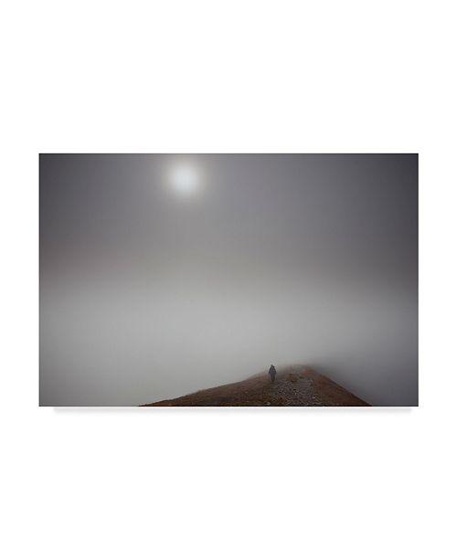 "Trademark Global Maciej Duczynski 'Journey Shining' Canvas Art - 32"" x 22"""