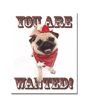 "Gifty Idea Greeting Cards and Such! 'You Are Wanted' Canvas Art - 32"" x 26"""