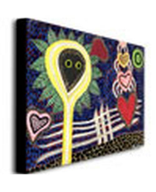 "Trademark Global Regina 'Paisaje Insular II' Canvas Art - 47"" x 35"""