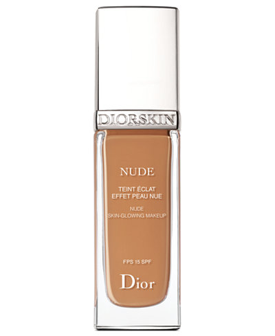 Dior Diorskin Nude Skin-Glowing Foundation Broad Spectrum SPF 15