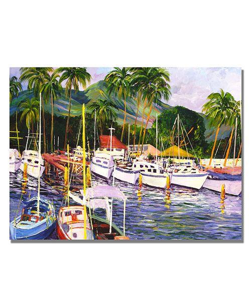 "Trademark Global Manor Shadian 'Lahaina Maui' Canvas Art - 47"" x 30"""