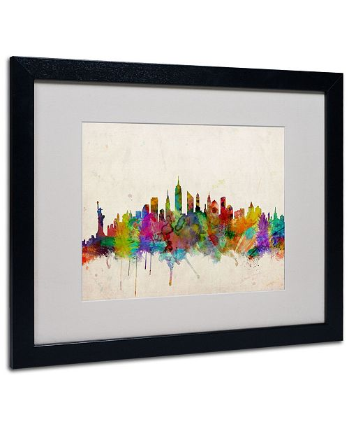 "Trademark Global Michael Tompsett 'New York Skyline' - 20"" x 16"""