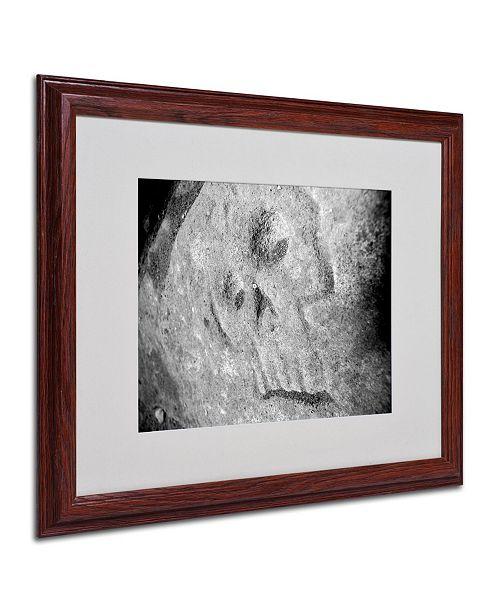 """Trademark Global Monica Fleet 'Rebellious' Matted Framed Art - 20"""" x 16"""""""