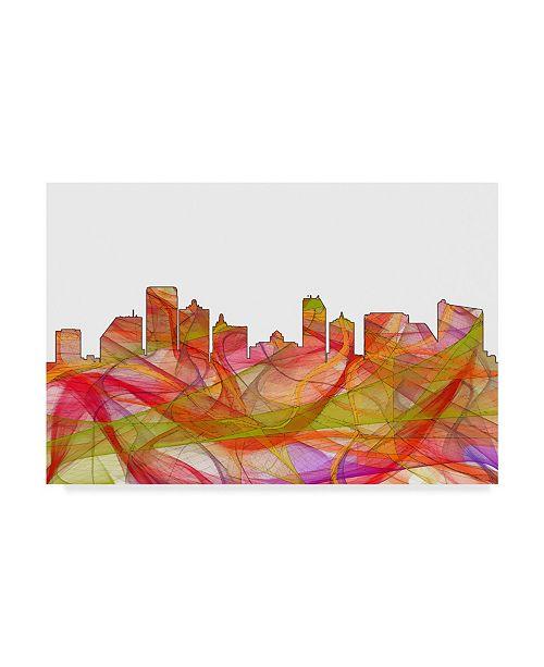 "Trademark Global Marlene Watson 'Atlantic City NJ' Canvas Art - 12"" x 19"""