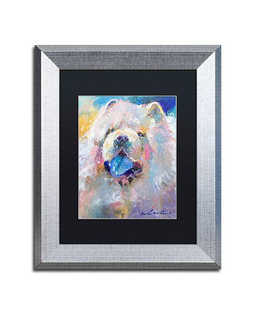 """Trademark Global Richard Wallich 'Art Chow' Matted Framed Art - 11"""" x 14"""""""