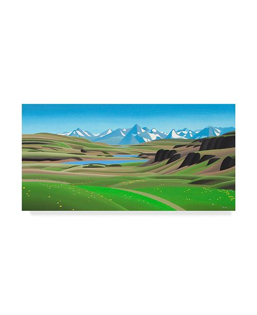 "Trademark Global Ron Parker 'High Country' Canvas Art - 12"" x 24"""