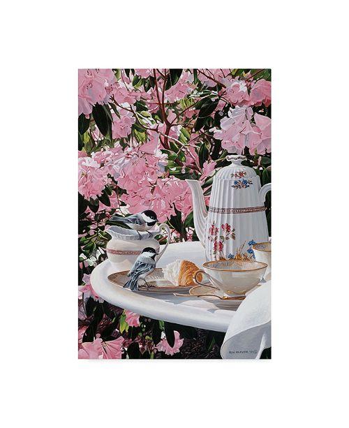 "Trademark Global Ron Parker 'Breakfast Time' Canvas Art - 12"" x 19"""