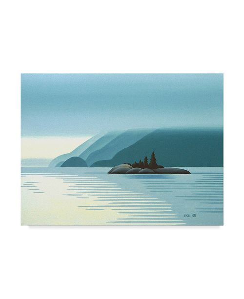 "Trademark Global Ron Parker 'Overcast' Canvas Art - 14"" x 19"""