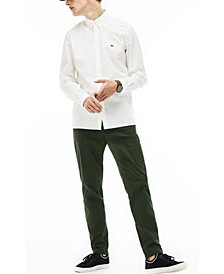 Men's Slim-Fit Poplin Stretch Shirt