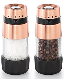Good Grips Accent Mess Free Salt & Pepper Grinder Set