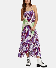 Heat Wave Printed Maxi Dress