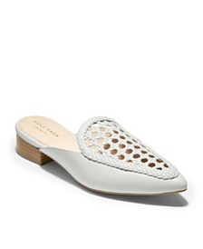 Cole Haan Payson Weave Mules