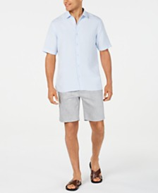 Alfani Men's Regular-Fit Shirt & Shorts, Created for Macy's