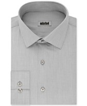 3be7bce9a9 Kenneth Cole UNLISTED Men's Classic/Regular Fit Easy-Care Stripe Dress Shirt