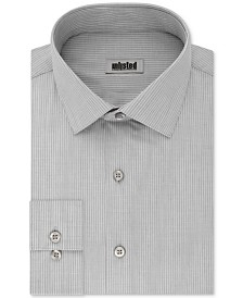 Kenneth Cole Unlisted Men's Slim-Fit Stripe Dress Shirt