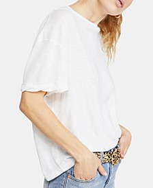 Viola Open-Back High-Neck T-Shirt