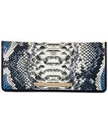 Brahmin Ady Ballington Embossed Leather Wallet