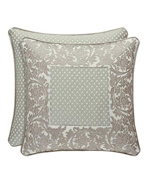 "J Queen New York J. Queen New York Monticello 20"" Sqaure Collection Decorative Pillow"