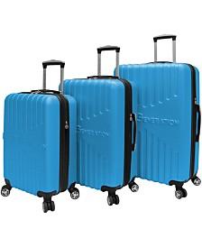 BCBGeneration Signature 3-Piece Hardside Spinner Luggage Set