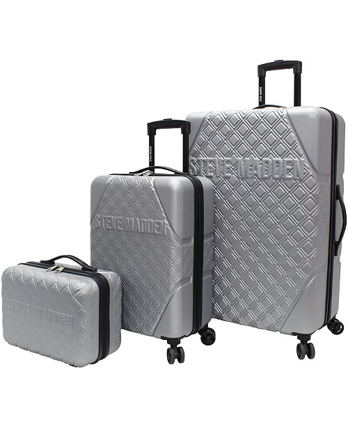 Steve Madden Karisma 3-Piece Hardside Spinner Luggage Set