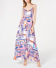 Printed Maxi Gown