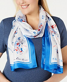 Christine Silk Oblong Scarf