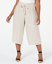4a977e9184f6c5 Buy Plus Size Wide Leg Pants: Shop Buy Plus Size Wide Leg Pants - Macy's