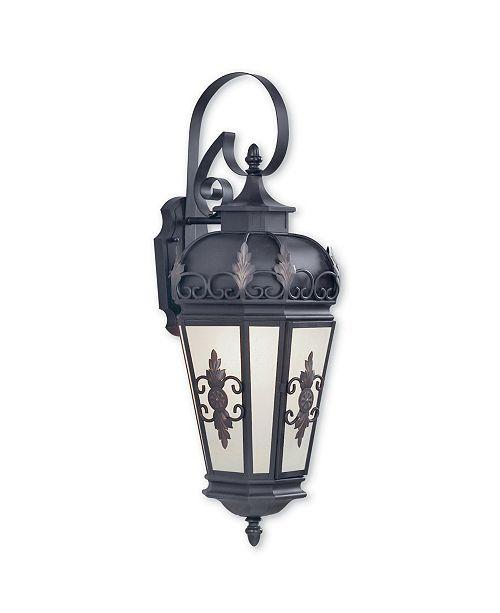 "Livex Berkshire 1-Light 30"" Outdoor Wall Lantern"