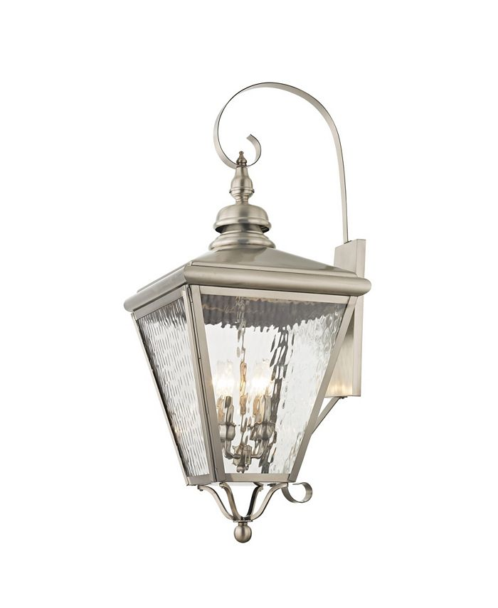 Livex - Cambridge 4-Light Outdoor Wall Lantern