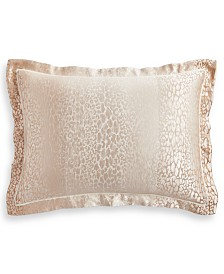 Hotel Collection Classic Ombré Leopard King Sham, Created for Macy's