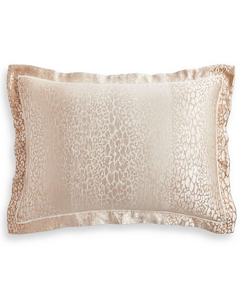 Hotel Collection Classic Ombré Leopard Standard Sham, Created for Macy's