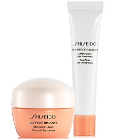 Free 2pc skincare gift with $65 Shiseido purchase