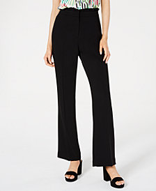 Bar III Ruffle-Waist Pants, Created for Macy's