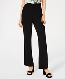 Bar III Ruffle-Waist Pants, Created for Macy's