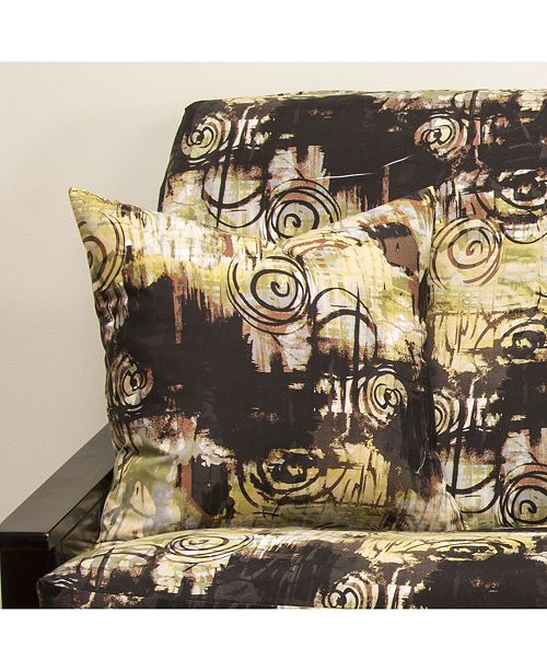 "Siscovers Graffiti 20"" Designer Throw Pillow"
