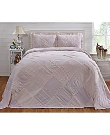 Ruffle Queen Bedspread