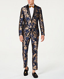 I.N.C. Men's Gold Leaf Suit Seperates, Created for Macy's