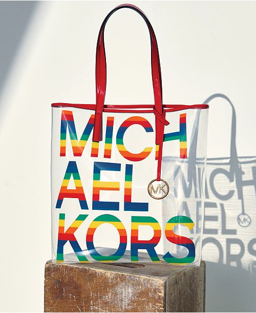 4f277d16e Michael Kors The Michael Bag Clear North South Tote & Reviews ...
