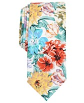 b08f4ef8fd33 Bar III Men's Rosewell Skinny Floral Tie, Created for Macy's