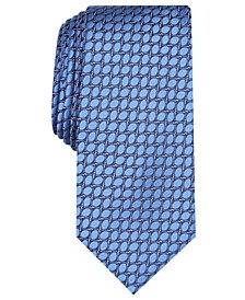 Men's Neat Slim Silk Tie, Created for Macy's
