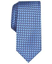 1f0312278215 Alfani Men's Neat Slim Silk Tie, Created for Macy's