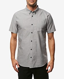 Men's Banks Slim-Fit Stretch Oxford Pocket Shirt