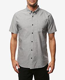 O'Neill Men's Banks Slim-Fit Stretch Oxford Pocket Shirt