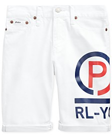 Polo Ralph Lauren Big Boys Logo Graphic Shorts