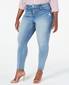 Seven7 Jeans Trendy Plus Size High-Rise Skinny Jeans