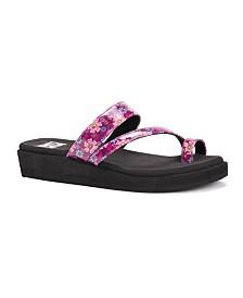Muk Luks Women's Callie Wedge Sandals