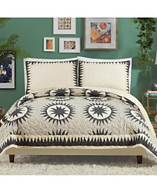 Justina Blakeney By Makers Collective Soleil Full/Queen Quilt Set