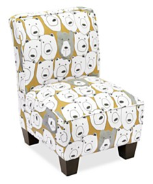 Erin Kid's Slipper Chair, Quick Ship