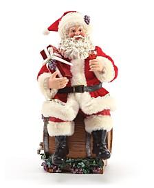 Department 56 Possibe Dreams Santa Barrel Tasting Figurine